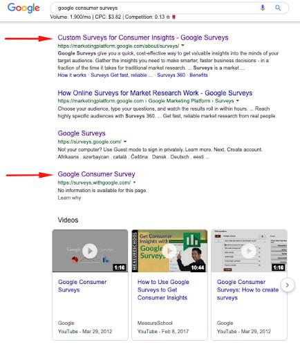 Google Forms vs  Google Surveys —Choosing the right survey tool