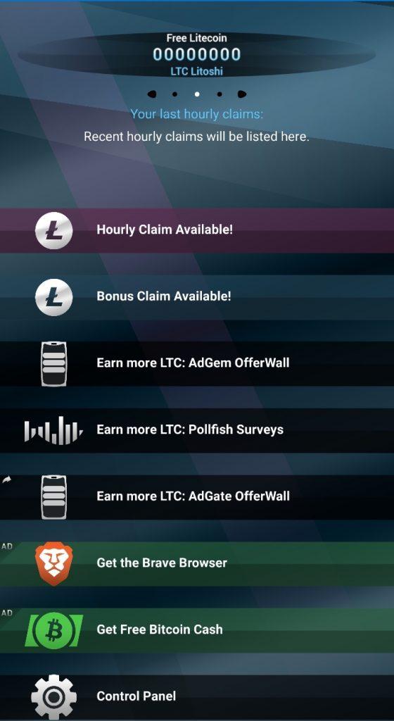 Pollfish Rewarded surveys in the Free Litecoin