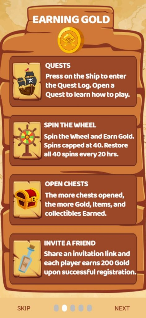 Friend Referral to earn 200 Gold